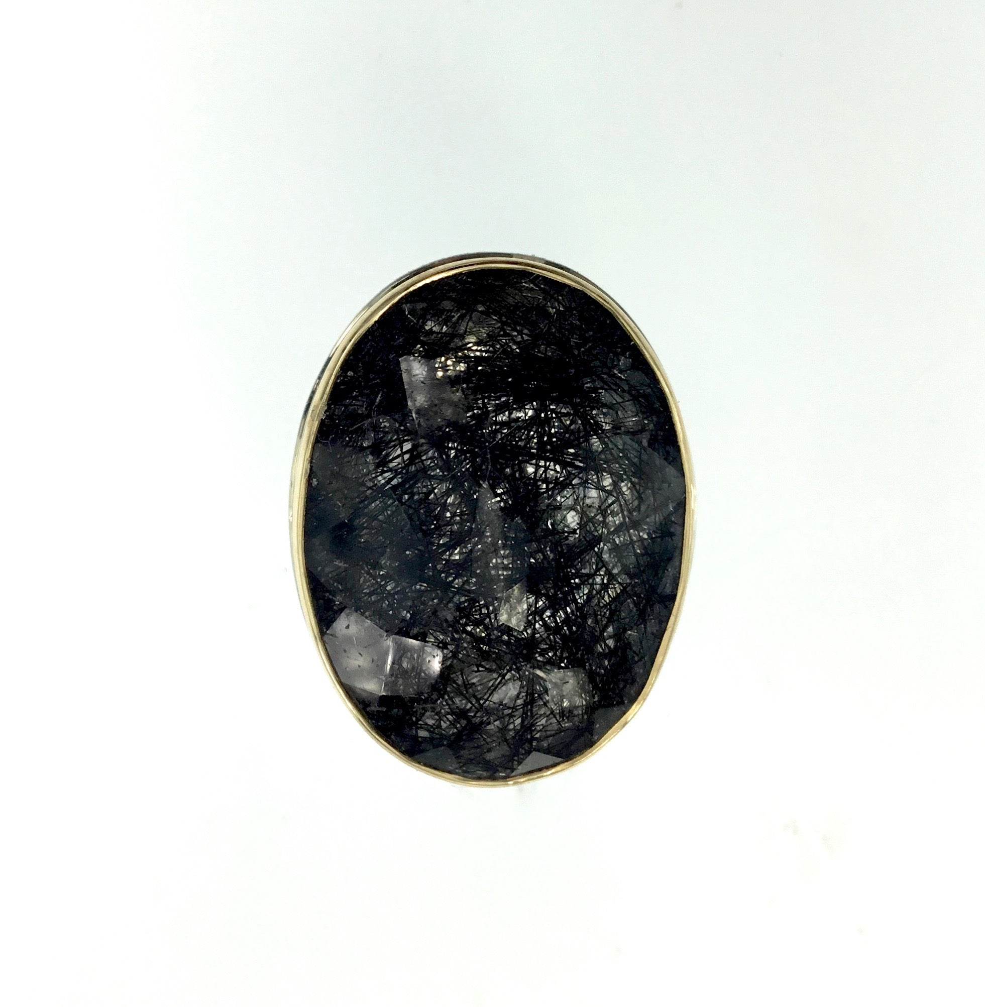 Jamie Joseph Tourmalated Quartz Ring