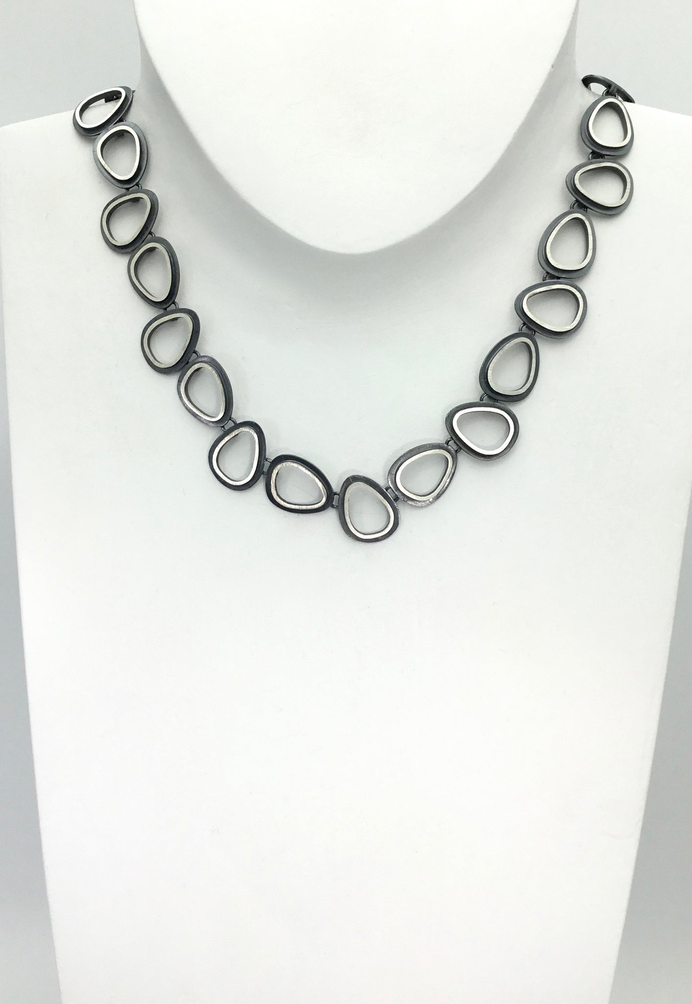 Heather Guidero Eclipse Organic Ovals Necklace