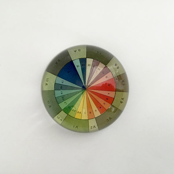 John Derian Color Wheel Paperweight