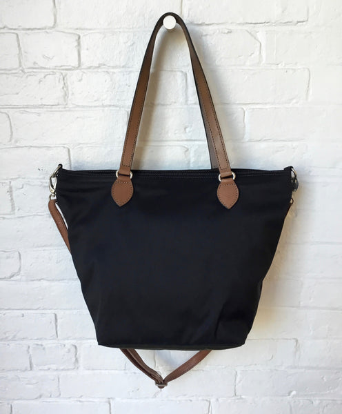 Vive La Difference Shopping in the City Bag in Black