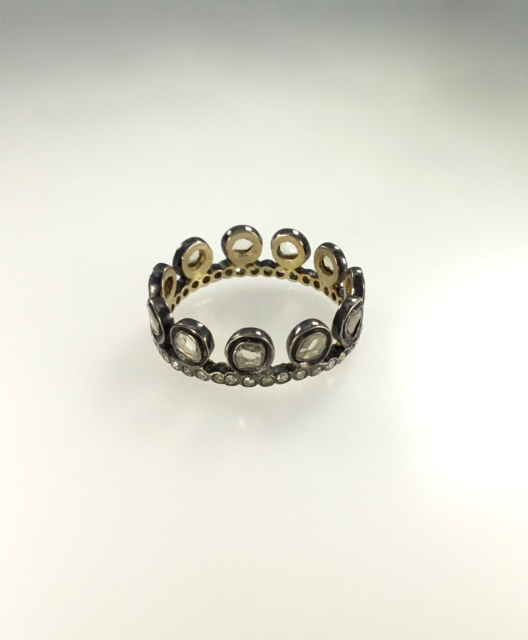 Priya Himatsingka Dotted Crown Diamond Ring