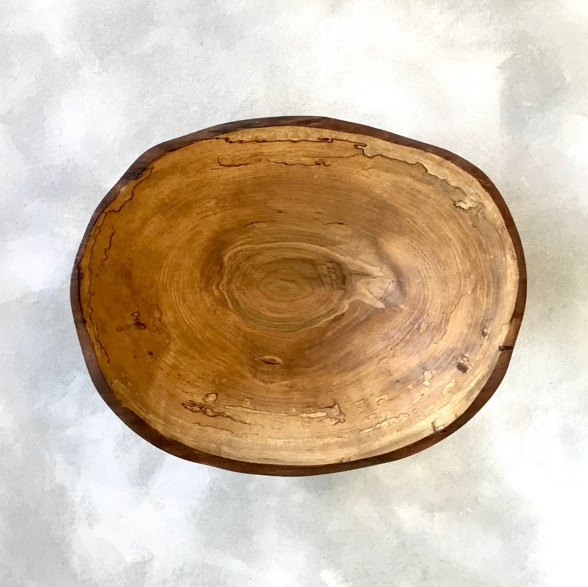 Petermans Spalted Maple Bowl