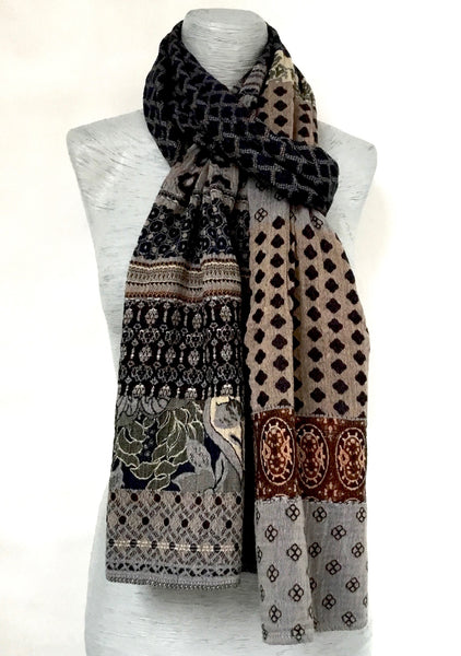 Letol Gontrand Scarf in Cocoa