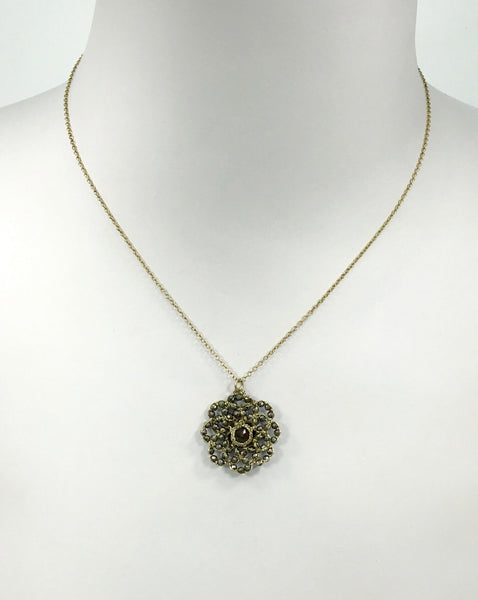 Danielle Welmond Quartz Flower Necklace