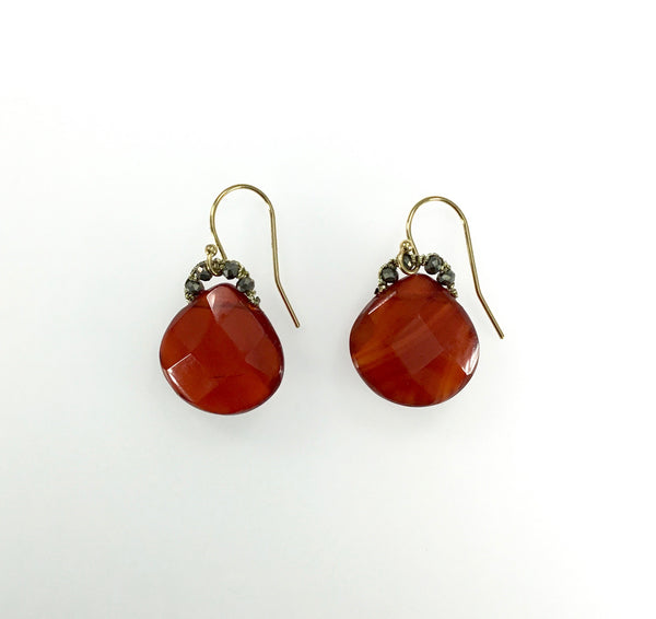 Danielle Welmond Carnelian Earrings