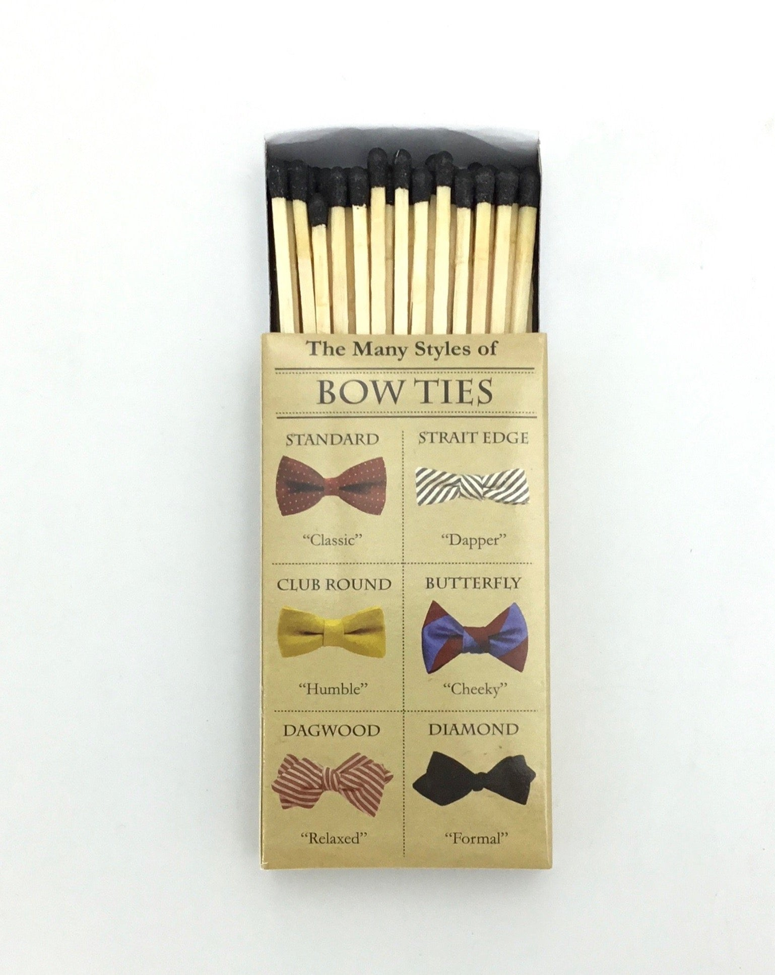 "Hom Art ""Bow Tie"" Matches"
