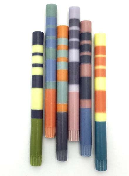 British Colour Standard Candles (Wide Stripe)
