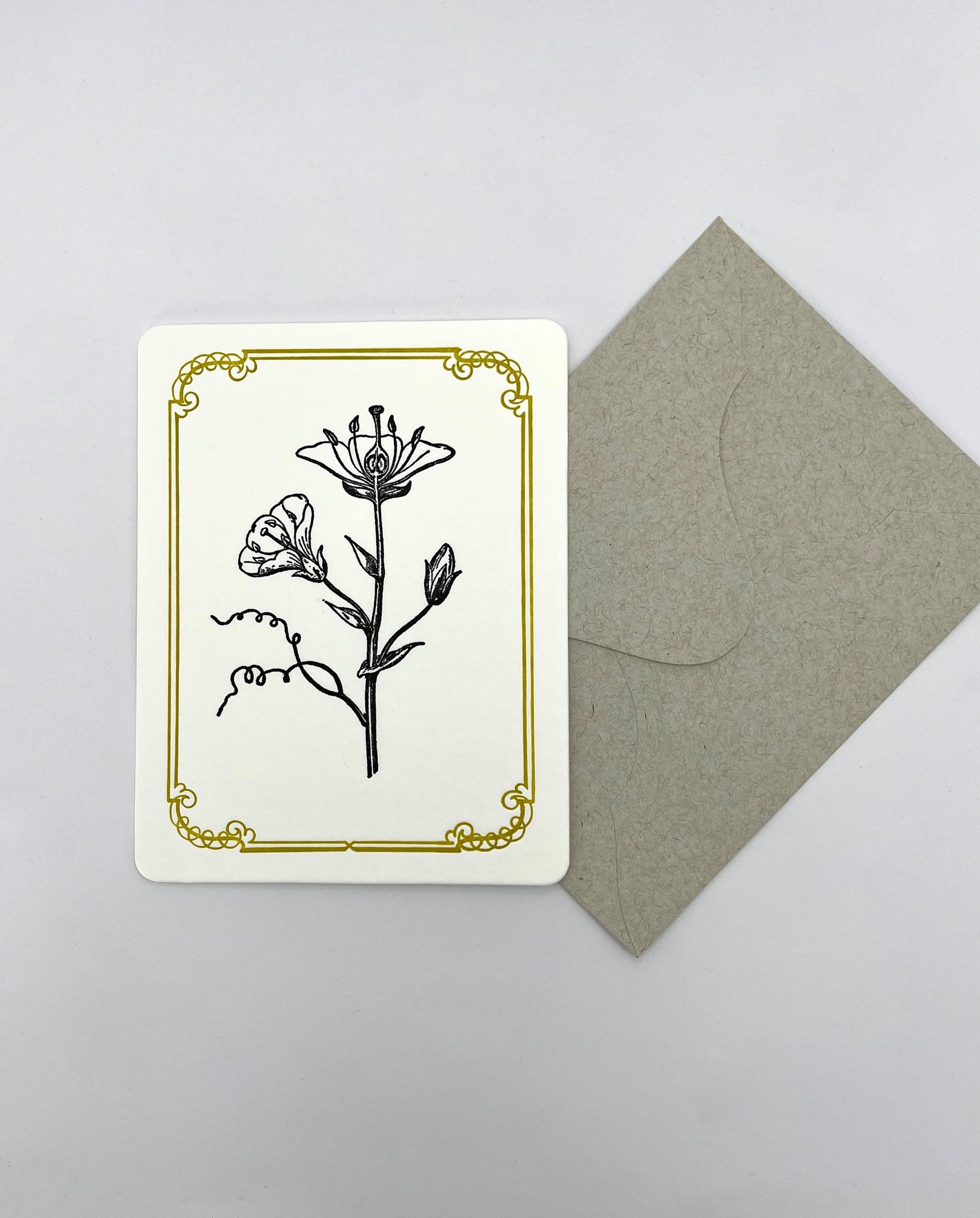 Austin Press Flowers #2 Card