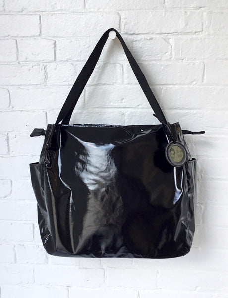 Jack Gomme Black Levant Shoulder Bag
