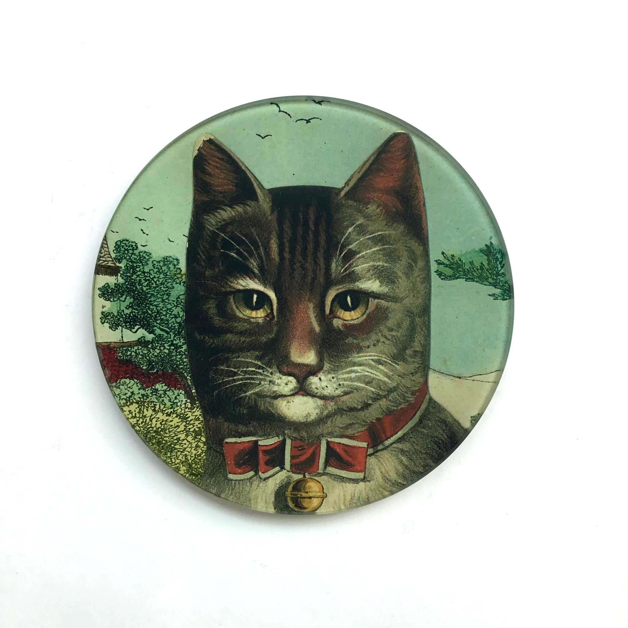 John Derian Country Cat Dish