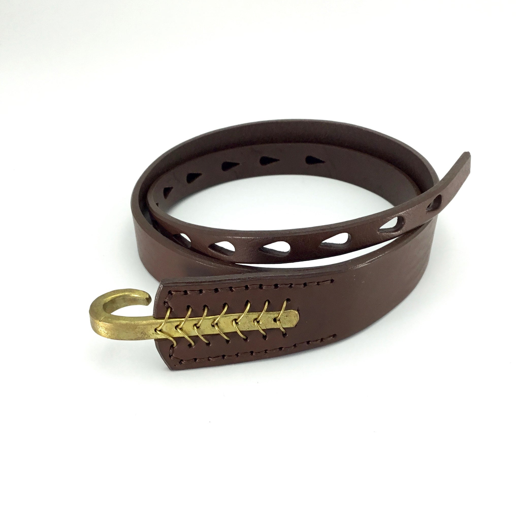 Johnny Farah Multihole Hook Belt