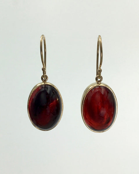 Jamie Joseph Garnet Earrings