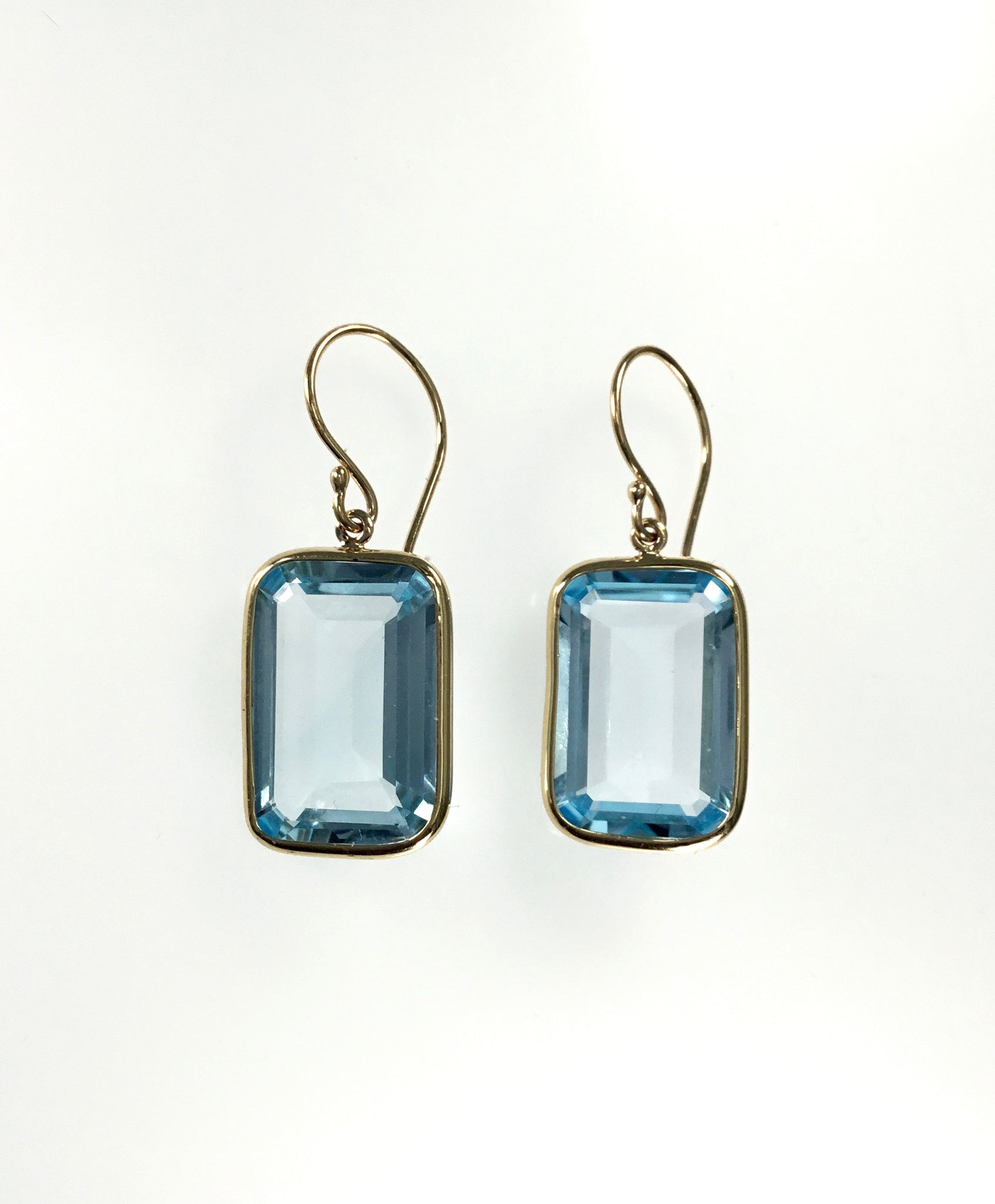Jamie Joseph Sky Blue Topaz Earrings