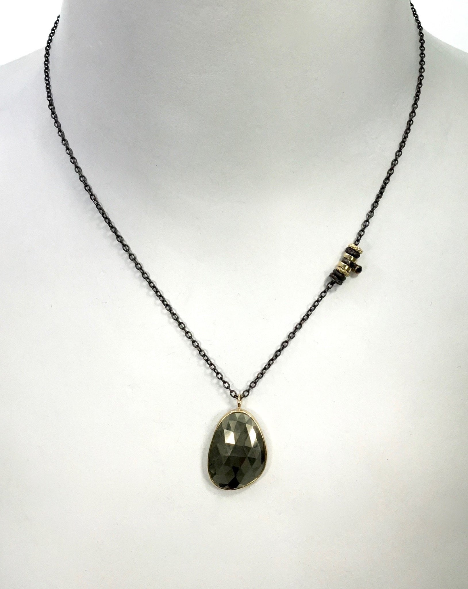 Jamie Joseph Pyrite Necklace