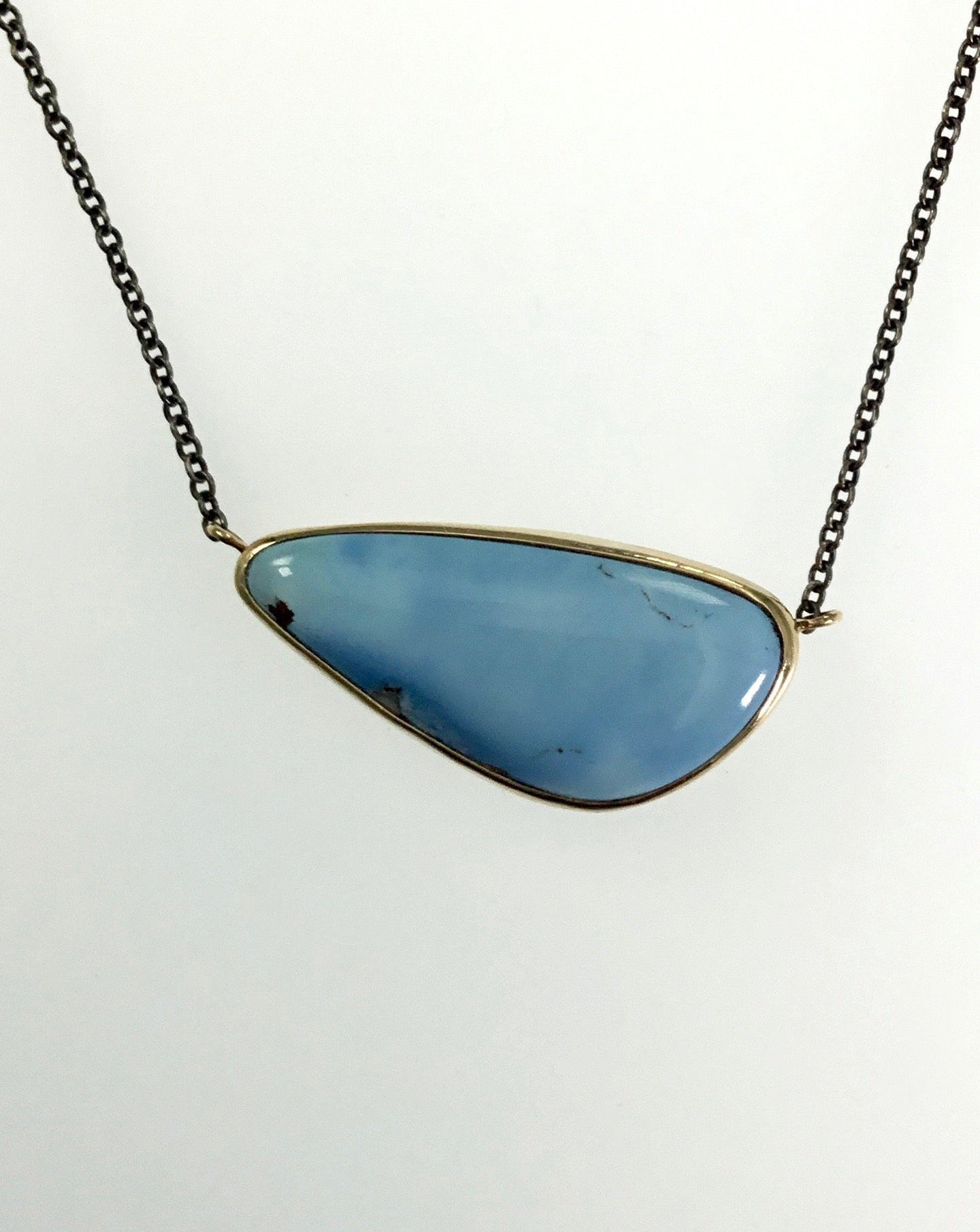 Jamie Joseph Small Turquoise Necklace