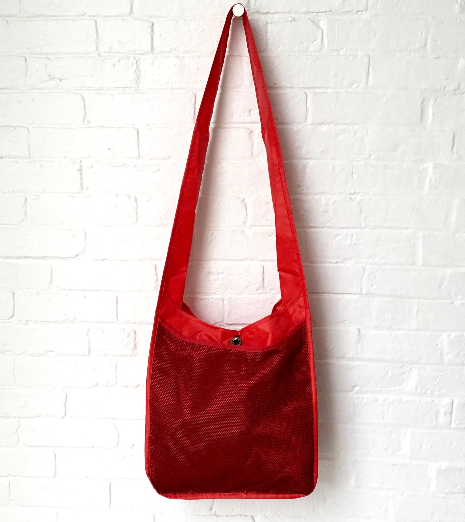 Anna Kaszer Red Philae Shoulder Bag