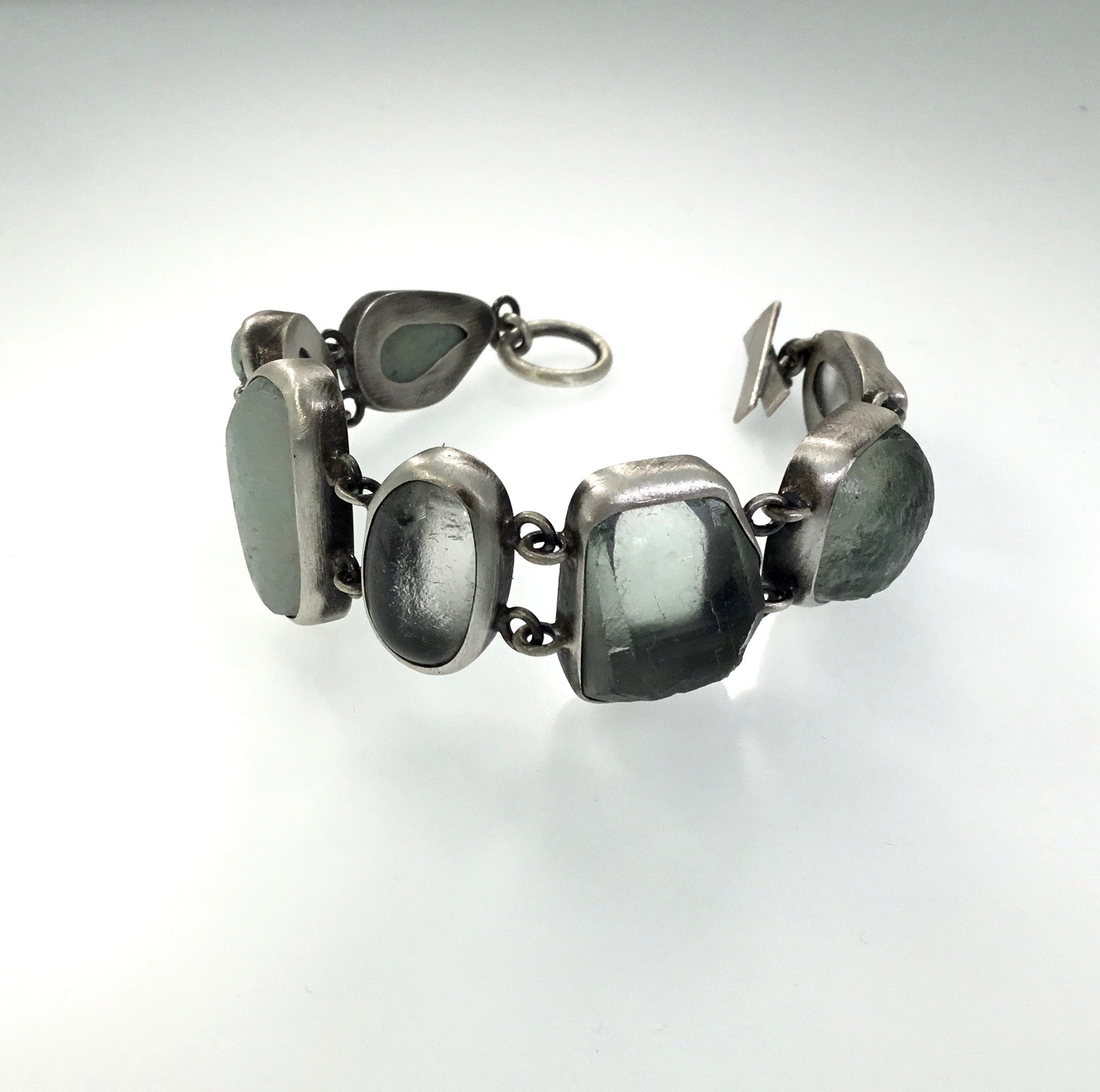 Terri Logan Linked  Stone Bracelet