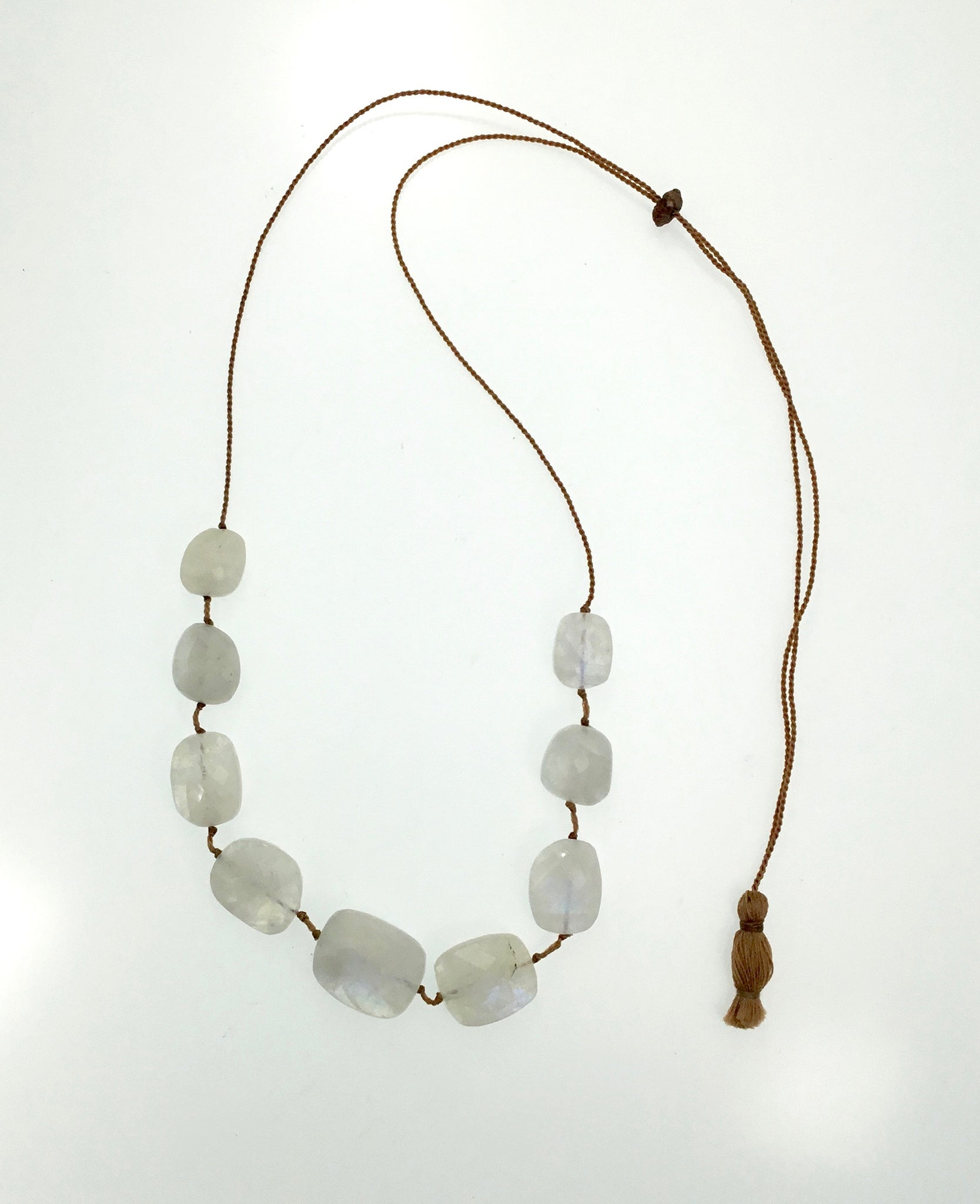 Lena Skadegard Floating Chalcedony Necklace