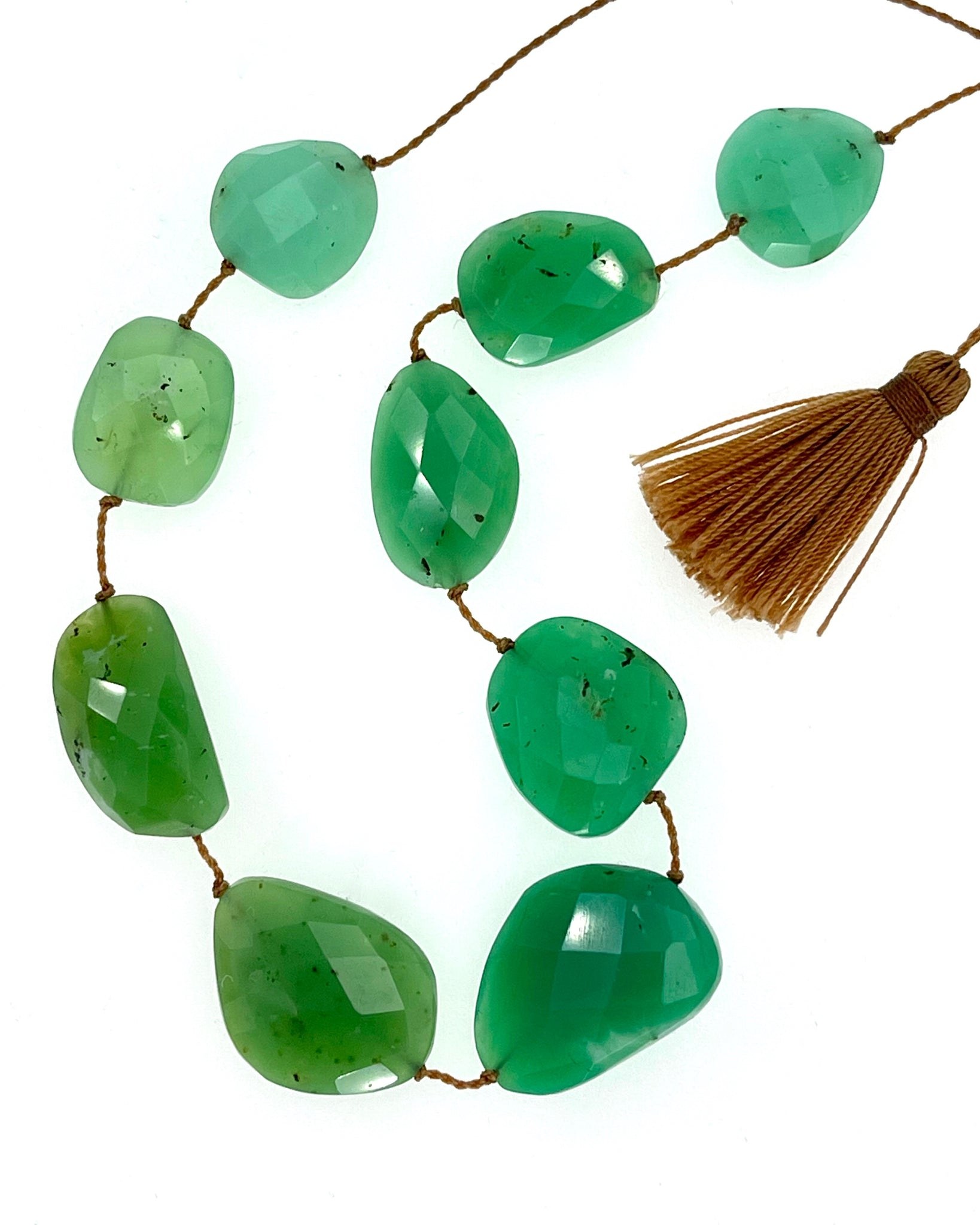 Lena Skadegard Chrysoprase Necklace