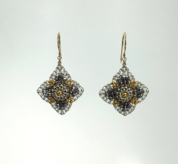 Miguel Ases Pyrite Earrings