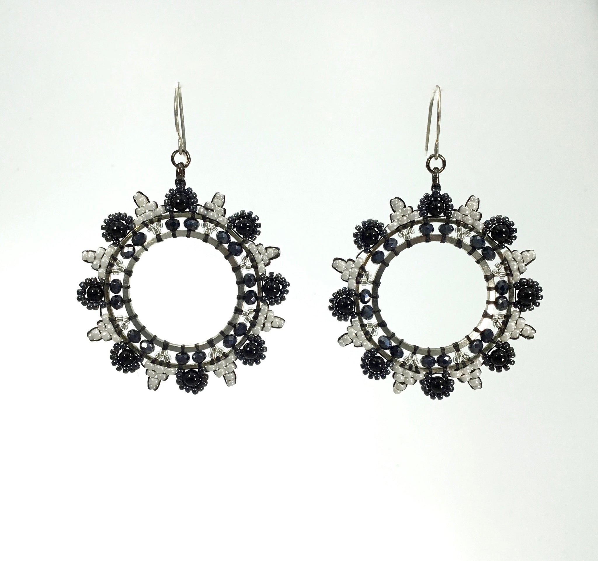 Miguel Ases Onyx Earrings