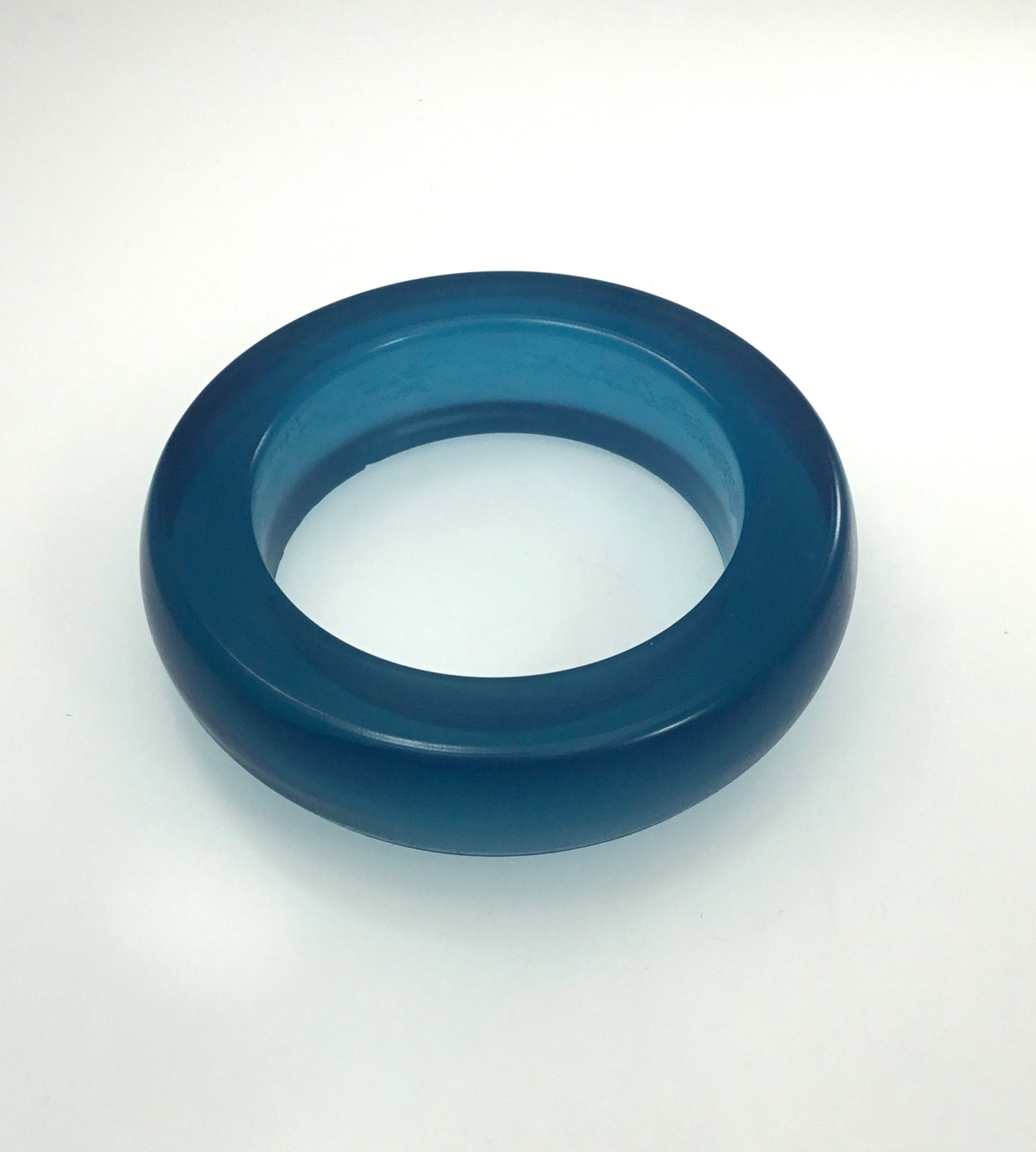 Materia Jelly Bangle in Blue