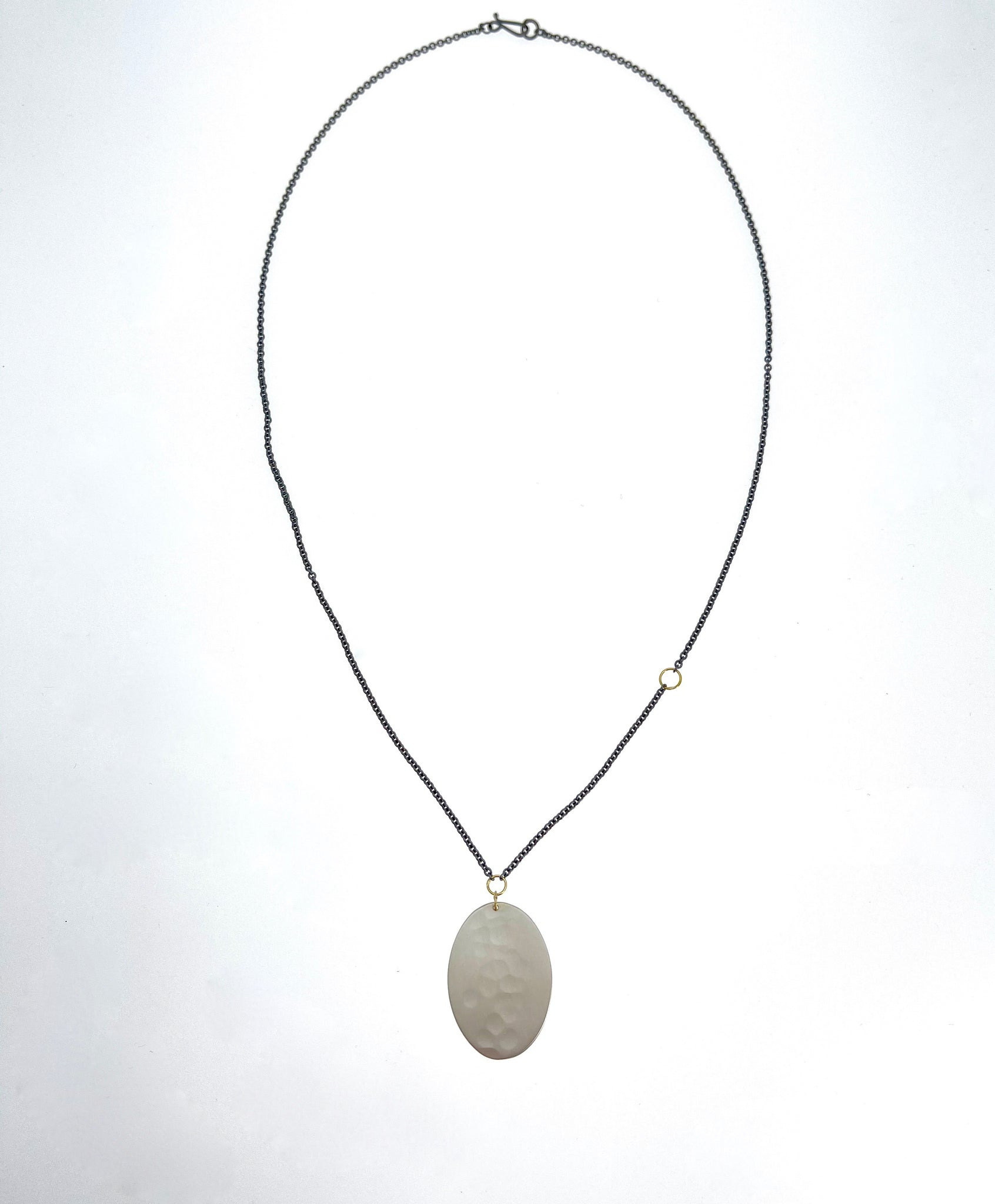 Sarah McGuire Oval Amulet Necklace