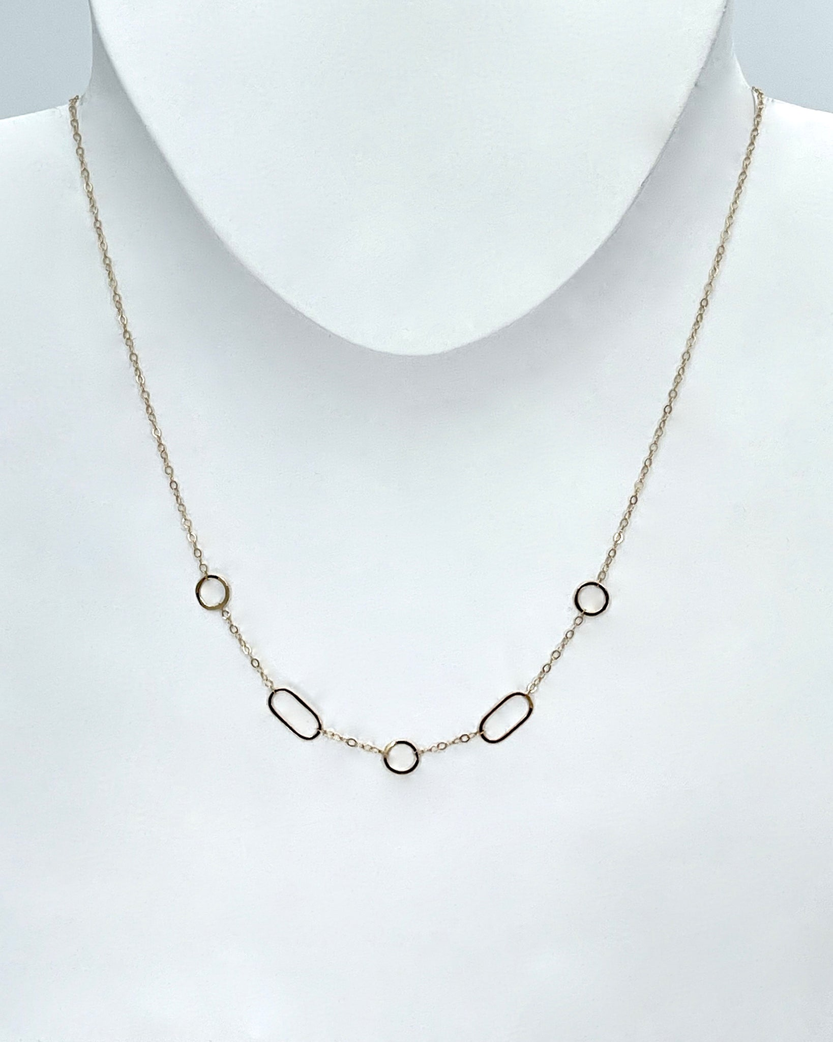 Melissa Joy Manning Multi-Shape Necklace