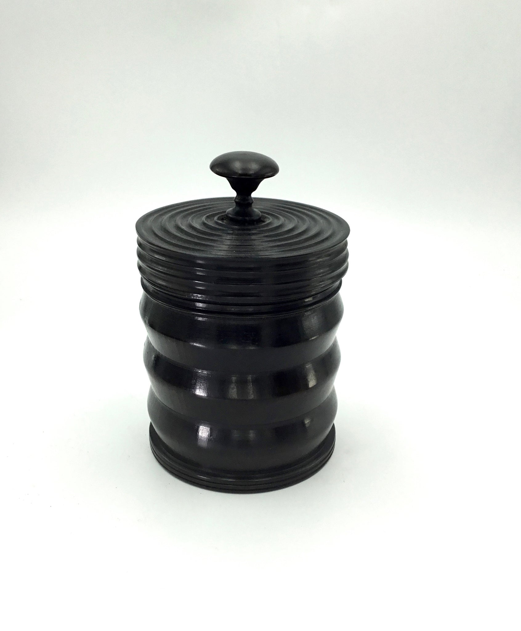 Mid-Size Ebony Container