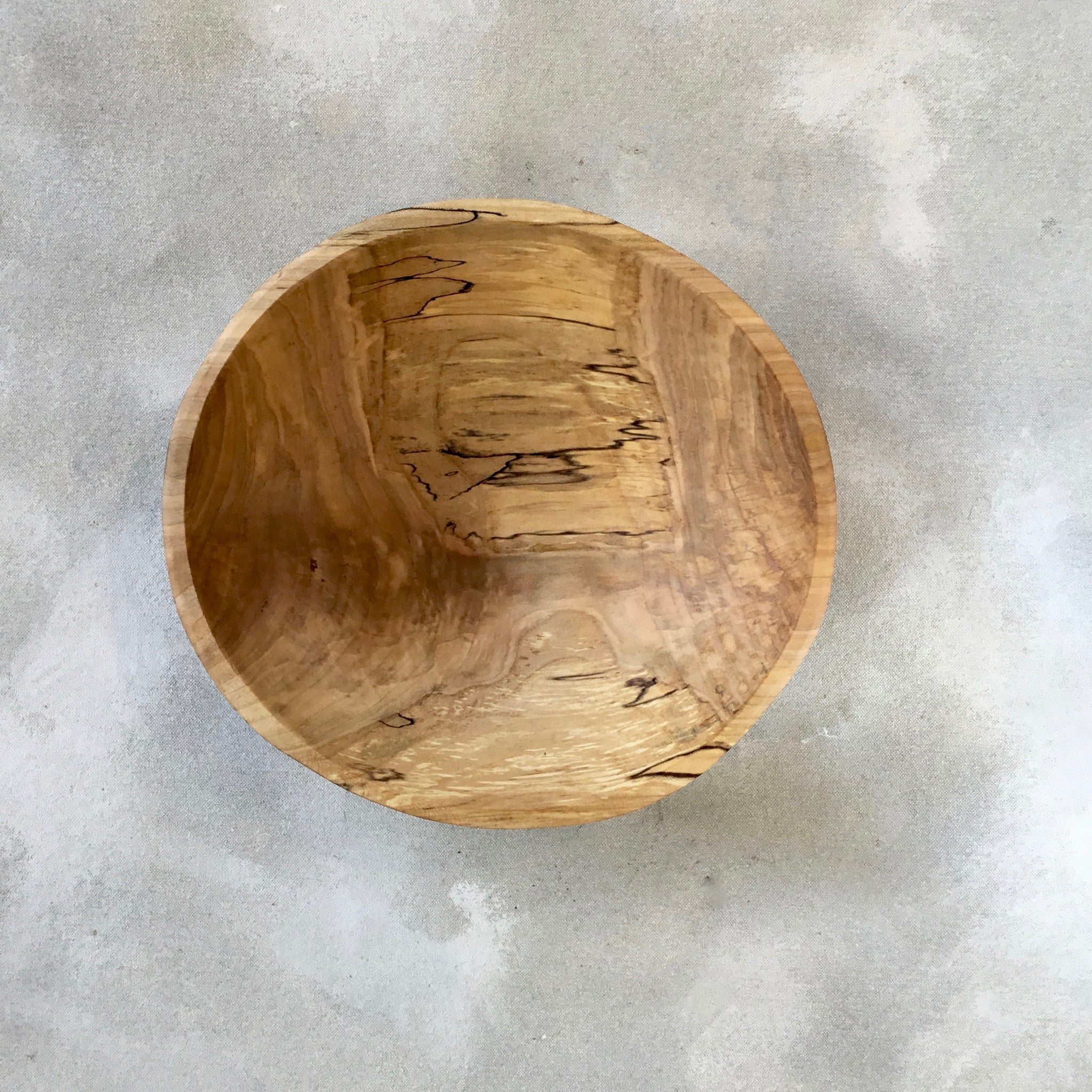 Petermans Spalted Ambrosia Bowl (11 Inch)