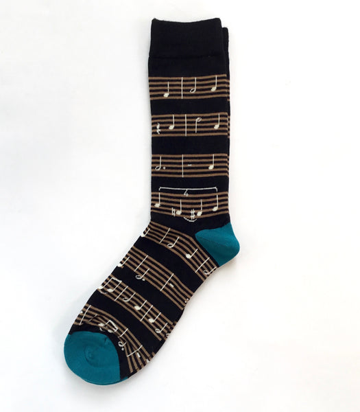 Socksmith Men's Sheet Music Socks