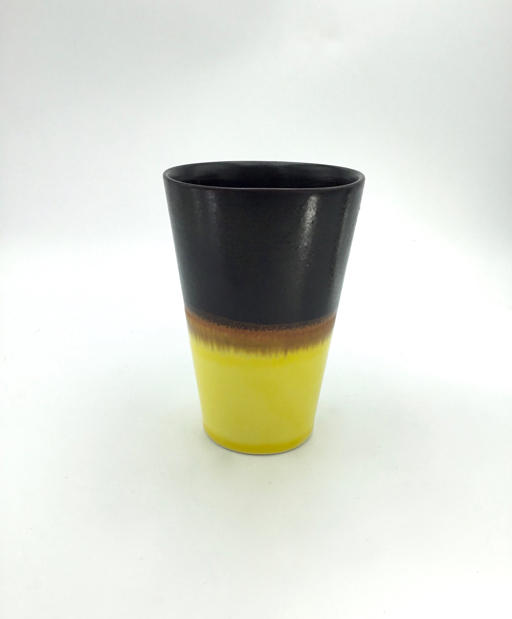 SGW Lab Chocolate & Lemon Yellow Tumbler