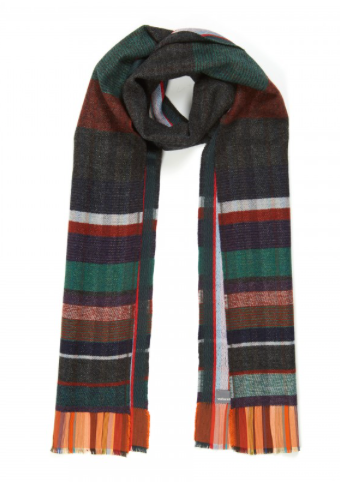 Wallace Sewell Bondone Scarf in Charcoal