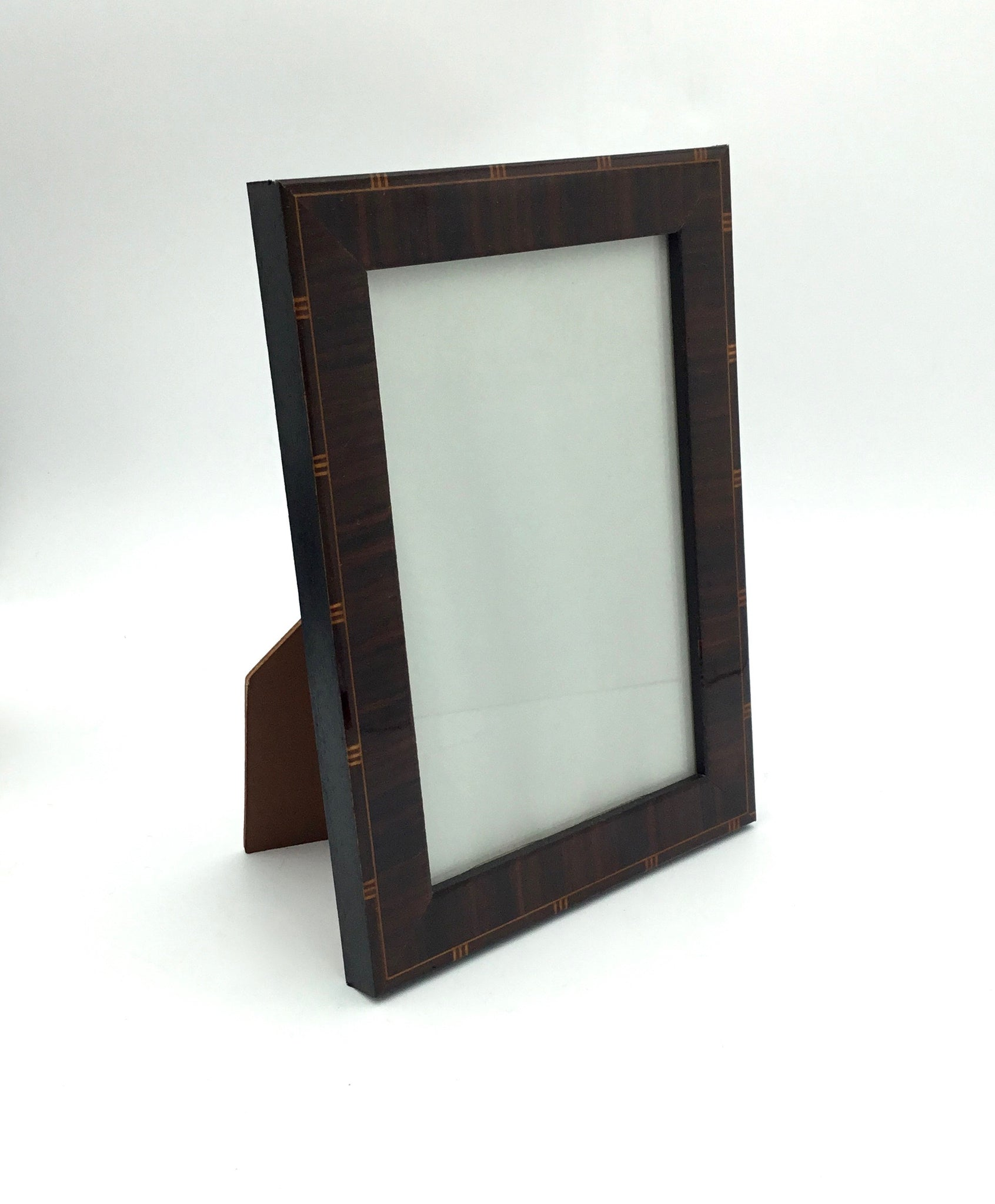 Tizo Picture Frame with Dark Wood Inlay