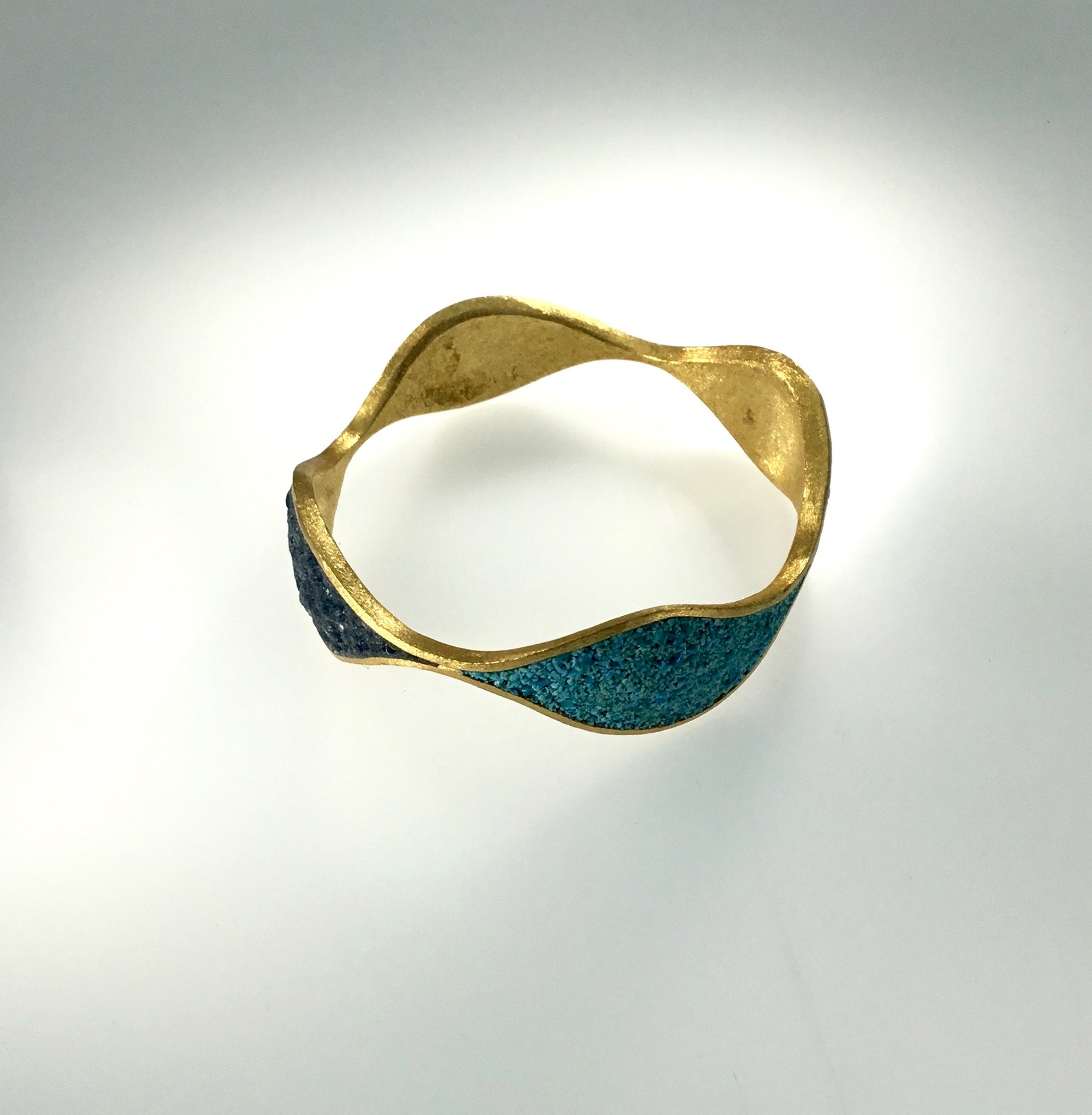 David Urso Bronze Quatro Bangle