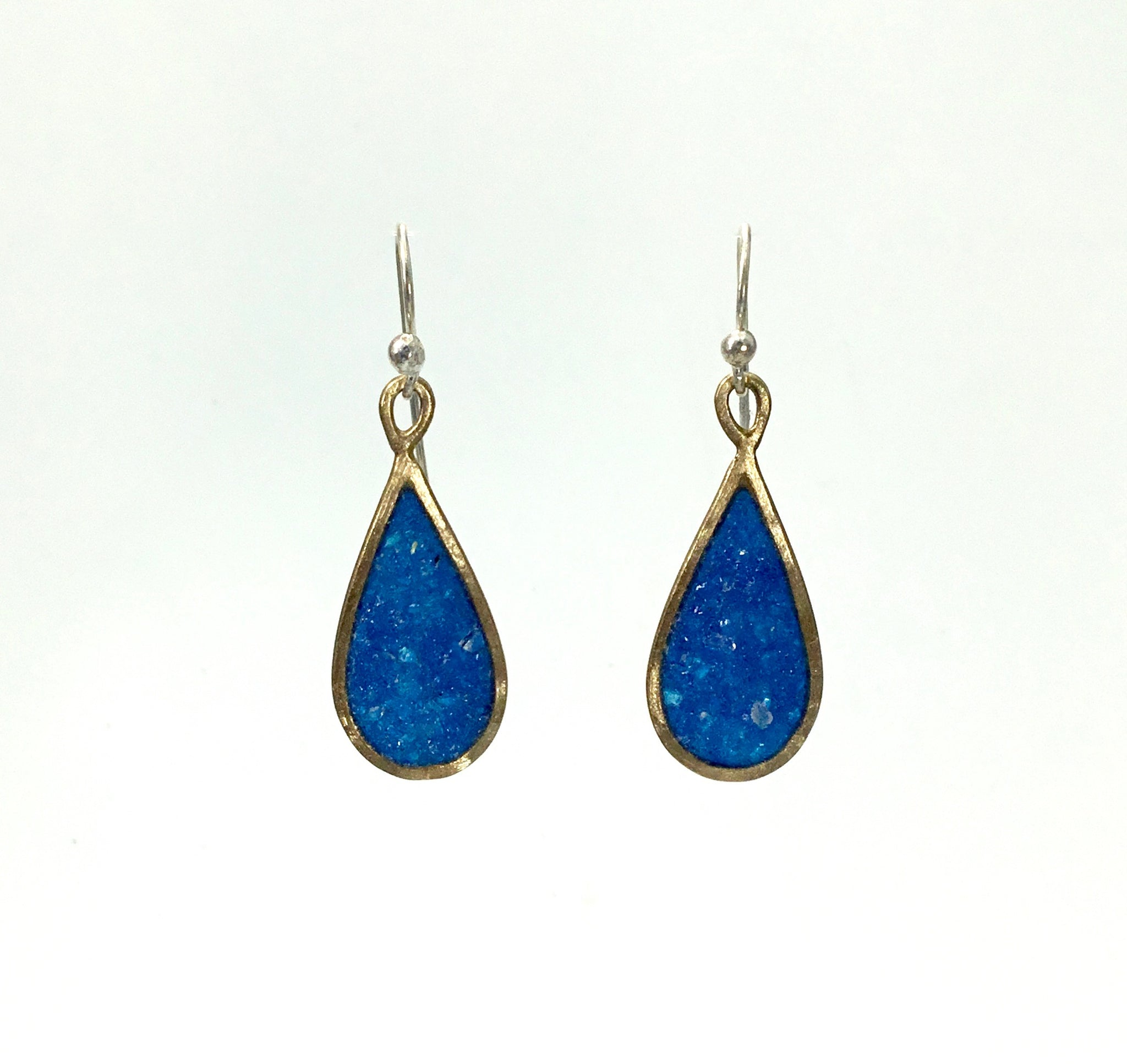 David Urso Blue Infinity Earrings