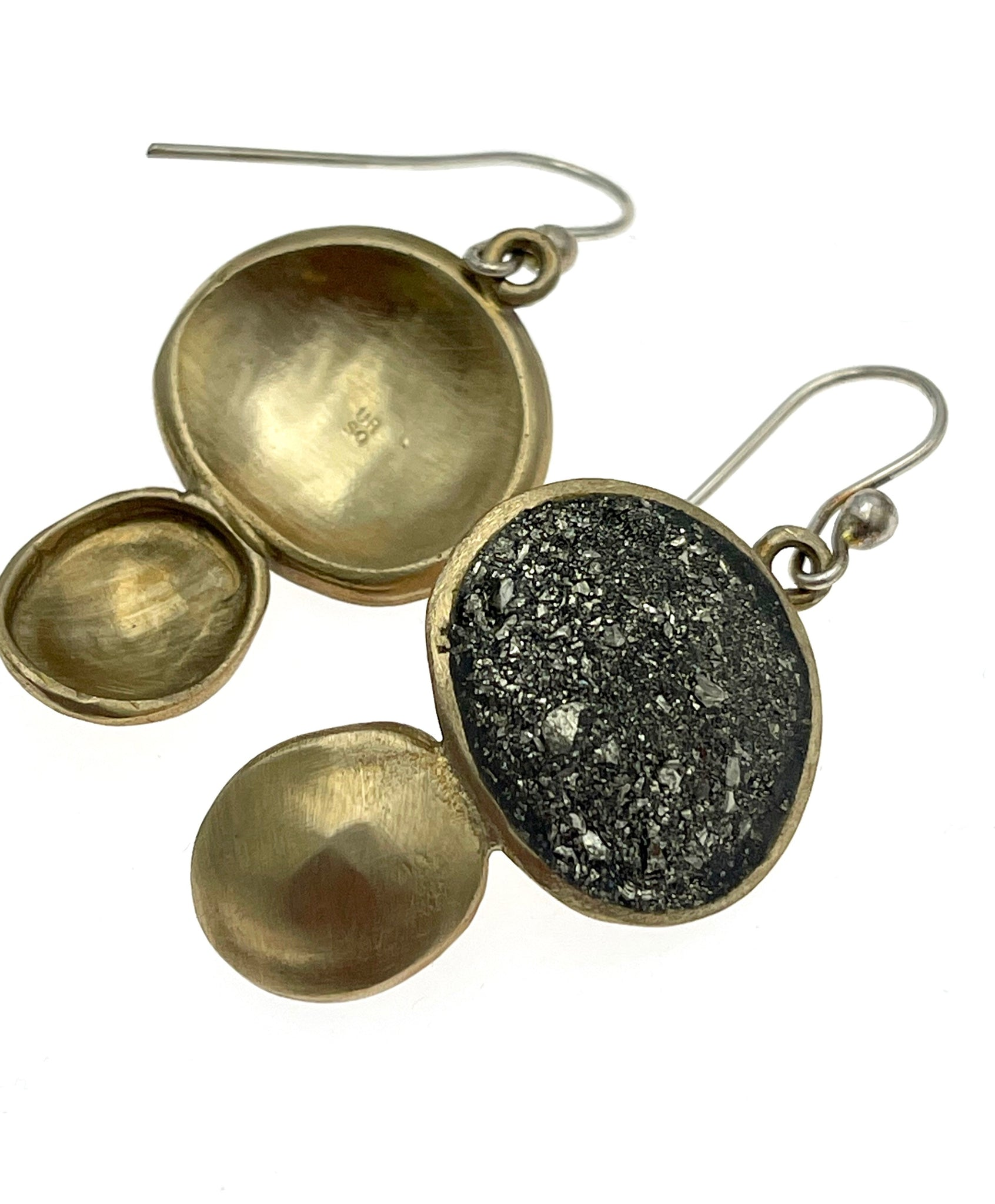 David Urso Toby Earring in Bronze