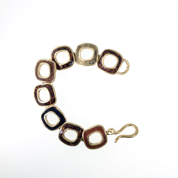 David Urso Open Square Bracelet
