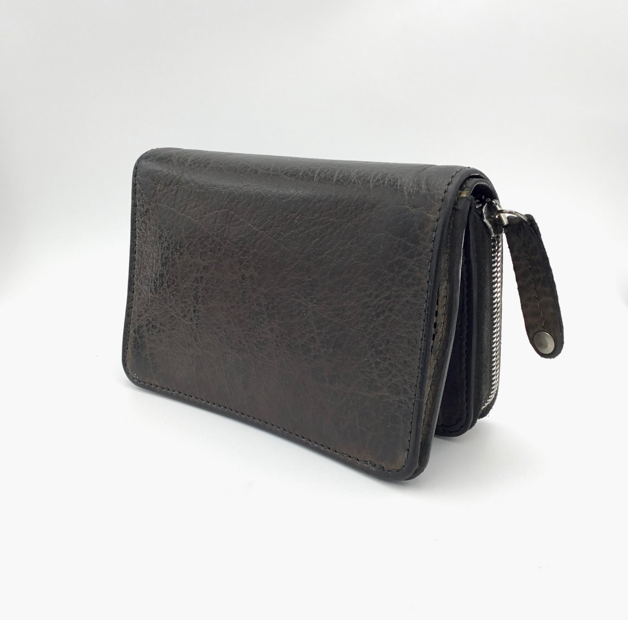 Vive la Difference Brown Leather Wallet