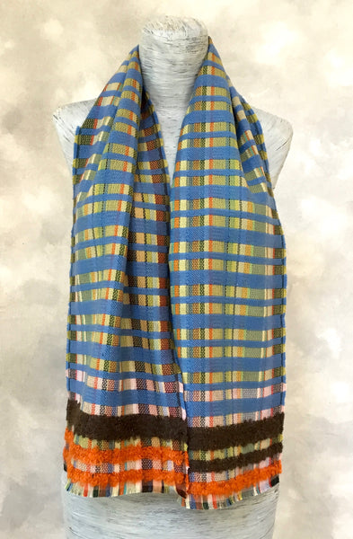 Wallace Sewell Giovanni Scarf in Blue
