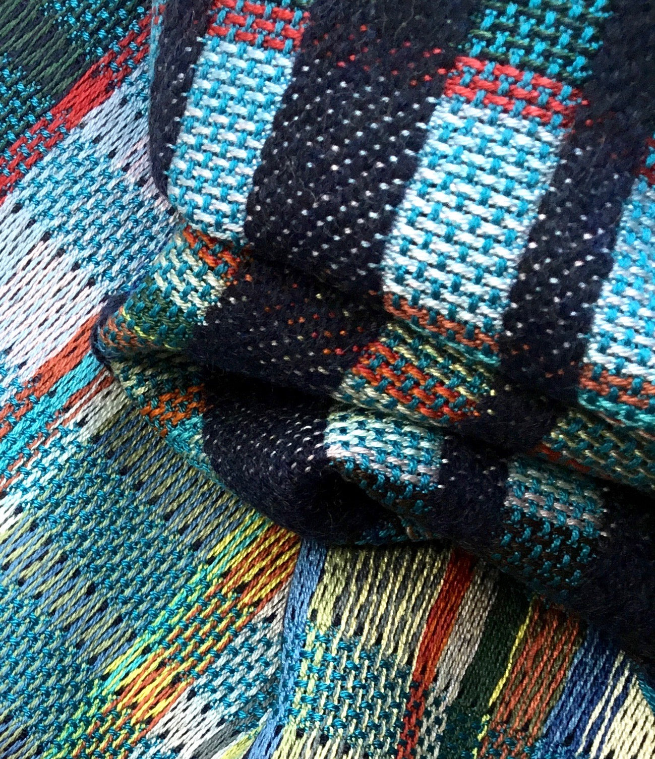 Wallace Sewell Giovanni Scarf in Navy