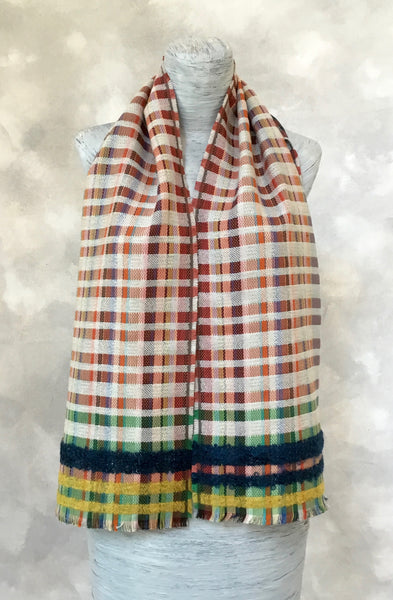 Wallace Sewell Giovanni Scarf in Chalk