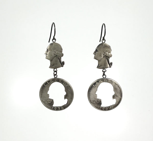 "Stacey Lee Webber George ""MIA"" Drop Earrings"
