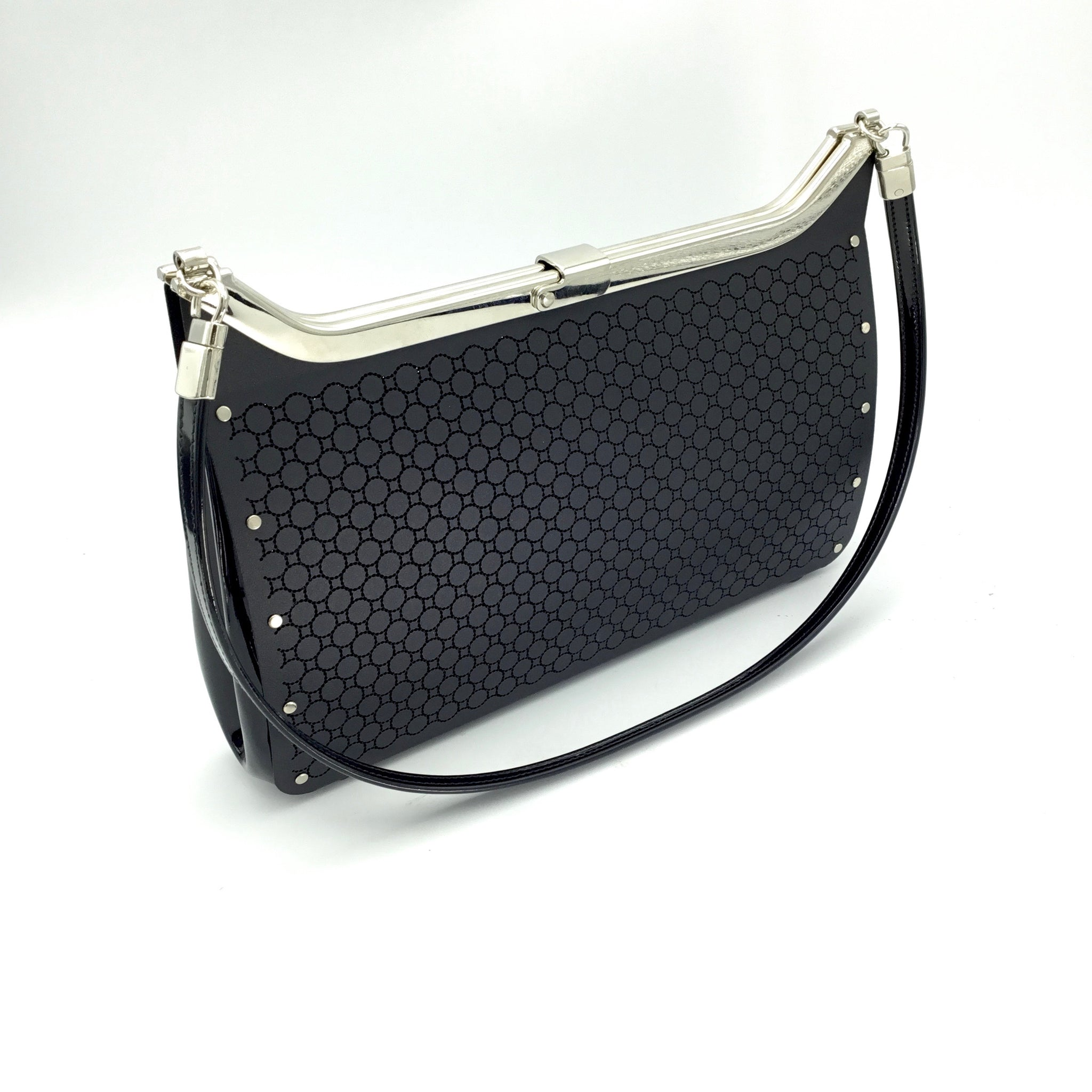 Wendy Stevens Loop Bag (Black)