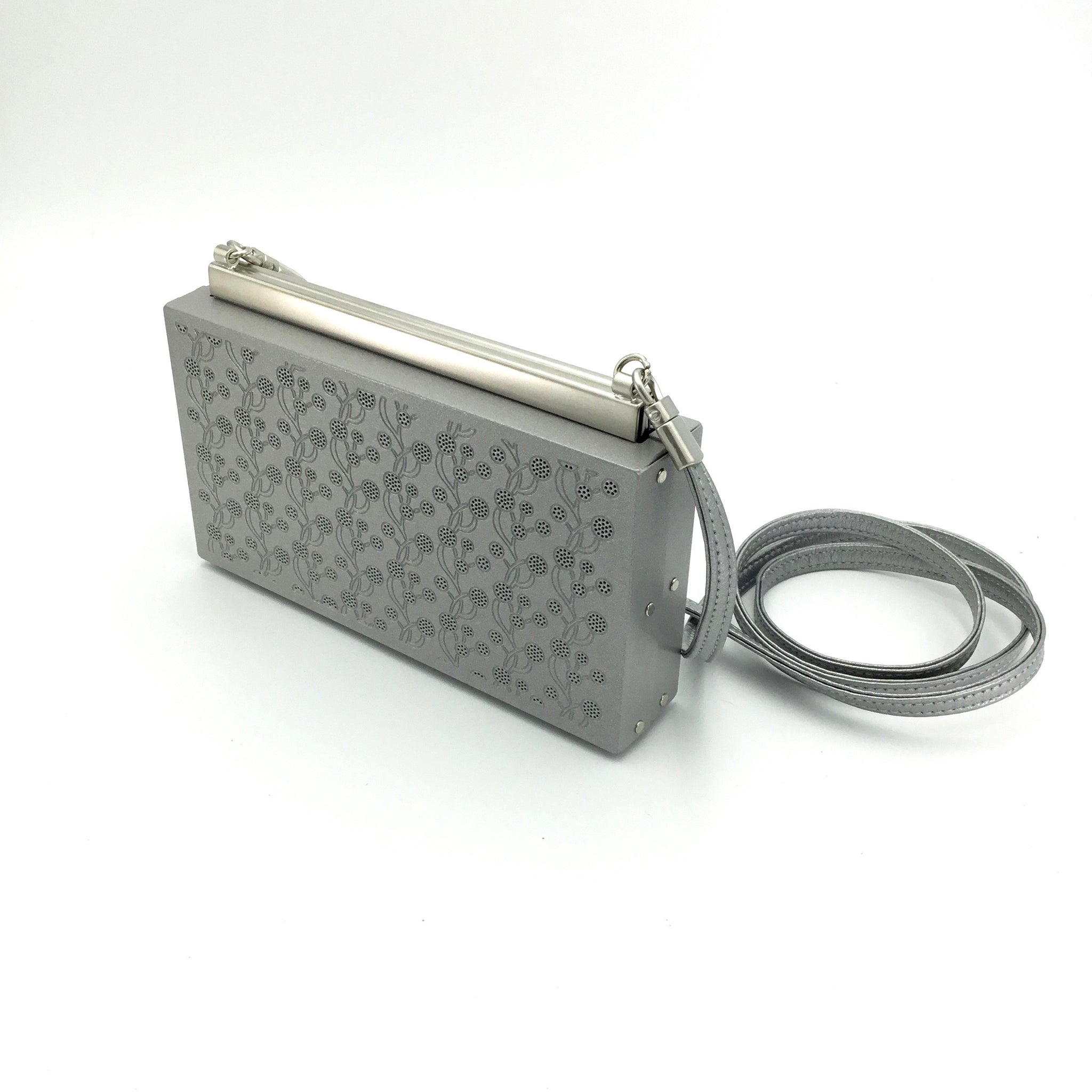 Wendy Stevens Vine Stainless Steel Handbag