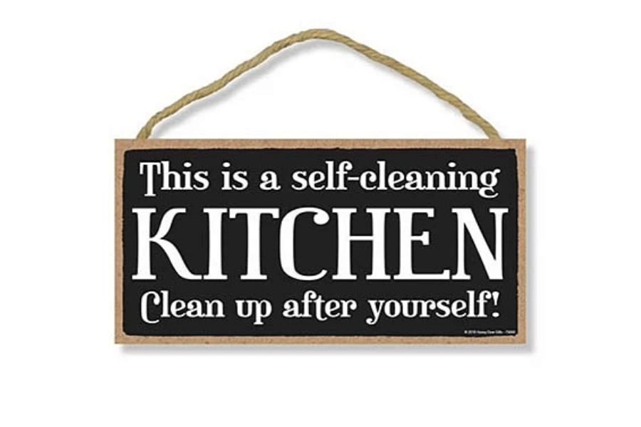 house cleaning signs