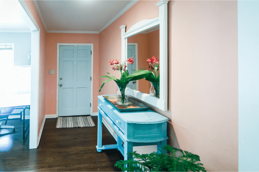 color entryway for home