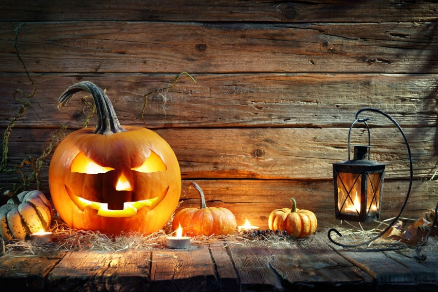 jack-o-lanterns for fall decor