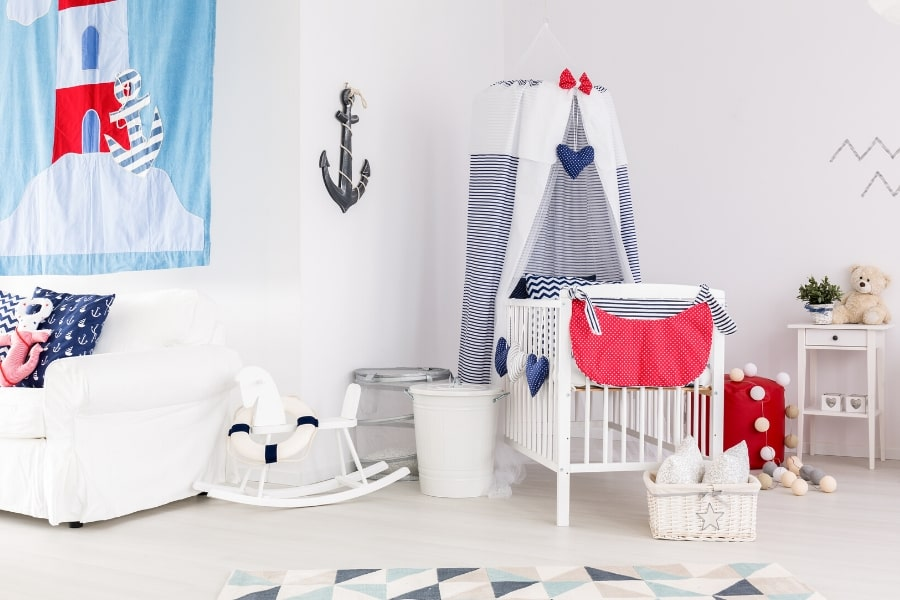 nautical inspiration playroom