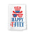 Happy Fourth of July Kitchen Towels, 27 inch by 27 inch, 100% Cotton, Multi-Purpose Flour Sack Towels, Home and Kitchen Decor, Housewarming, Birthday, Fourth of July Gifts